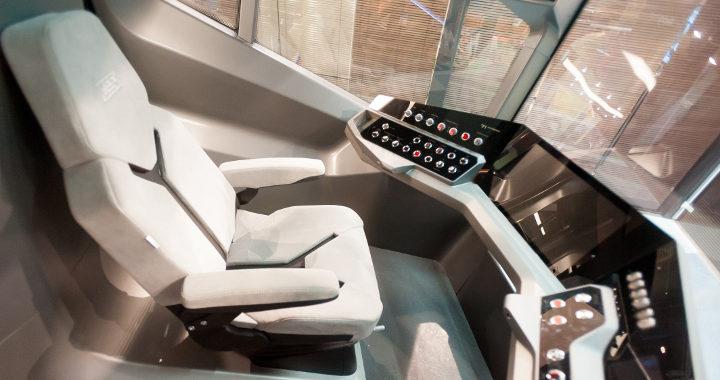 Tramway R1 - Poste du conducteur