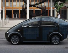 Sion voiture solaire