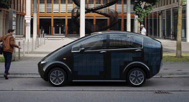 Sion voiture solaire